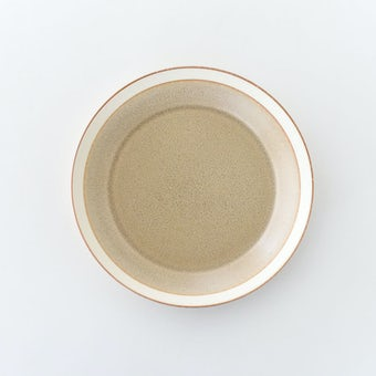 yumiko iihoshi porcelain × 木村硝子店 / dishes / プレート(径18cm)/ サンドベージュの商品写真
