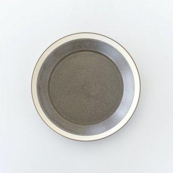 yumiko iihoshi porcelain × 木村硝子店 / dishes / プレート(径18cm)/ モスグレーの商品写真