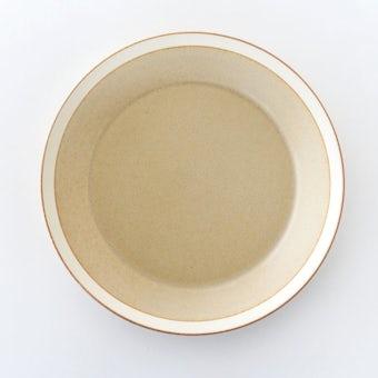 yumiko iihoshi porcelain × 木村硝子店 / dishes / プレート(径22cm)/ サンドベージュの商品写真