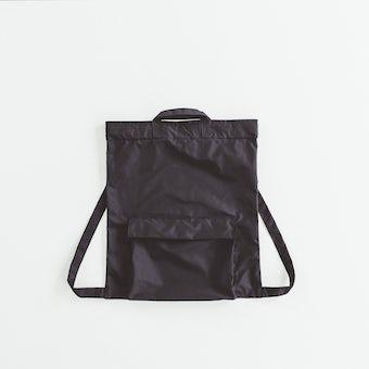 NORMALLY / 2WAYバックサック(ブラック)の商品写真