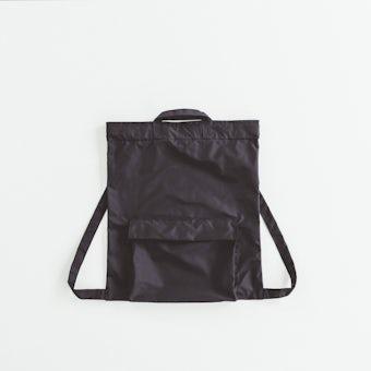 【次回入荷未定】NORMALLY / 2WAYバックサック(ブラック)の商品写真