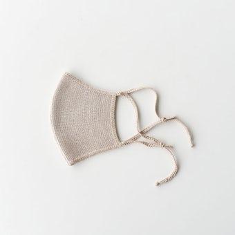 000 / シルクフェイスマスク(ベージュ)の商品写真