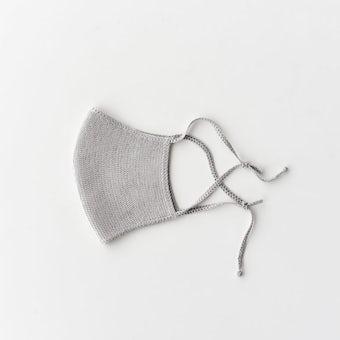 000 / シルクフェイスマスク(グレー)の商品写真