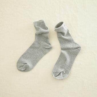 足元15cmの景色をつくる靴下 / mist(グレー)の商品写真