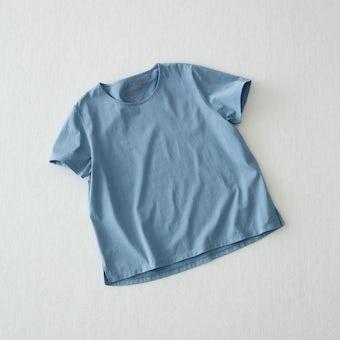 【今季終了】Tシャツ / Uネック(ブルー)の商品写真