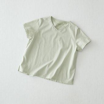 「大人に似合うワケがある」素肌も心もよろこぶTシャツの商品写真