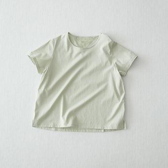 【今季終了】Tシャツ / Uネック(ミント)の商品写真