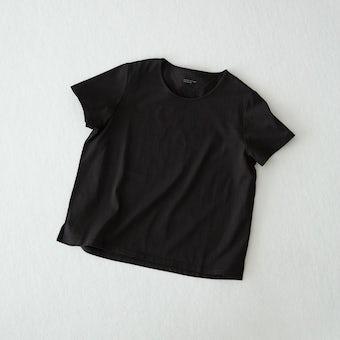 【今季終了】Tシャツ / Uネック(ブラック)の商品写真