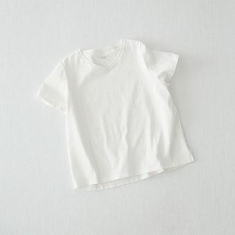 【今季終了】Tシャツ / Vネック(ホワイト)の商品写真