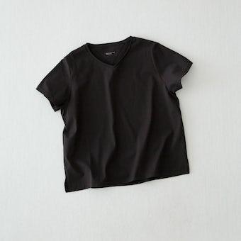 【今季終了】Tシャツ/ Vネック(ブラック)の商品写真