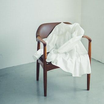 utilite / ユティリテ / チュニックブラウス(オフホワイト)の商品写真