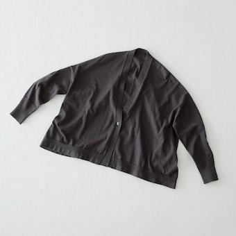 【今季終了】カーディガン(チャコール)の商品写真