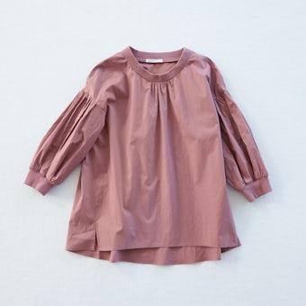 【今季終了】「洗いざらしがマイルール」香菜子さんとつくった2WAYトップス  / ローズピンクの商品写真