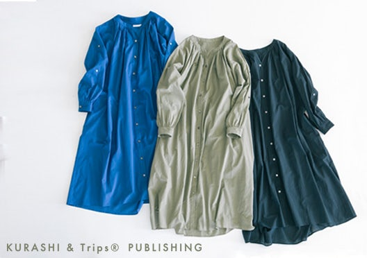 KURASHI&Trips PUBLISHING /オリジナル3WAYワンピースの画像
