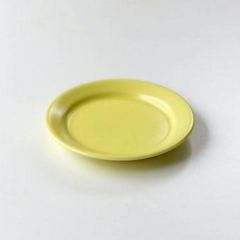 「平日夜のわたしの味方」小皿(イエロー)の商品写真