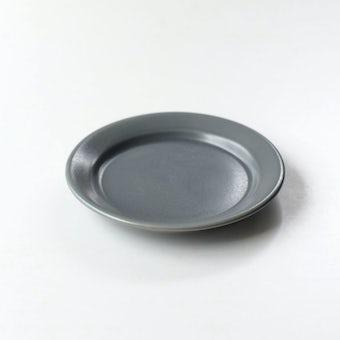 「平日夜のわたしの味方」小皿(グレー)の商品写真
