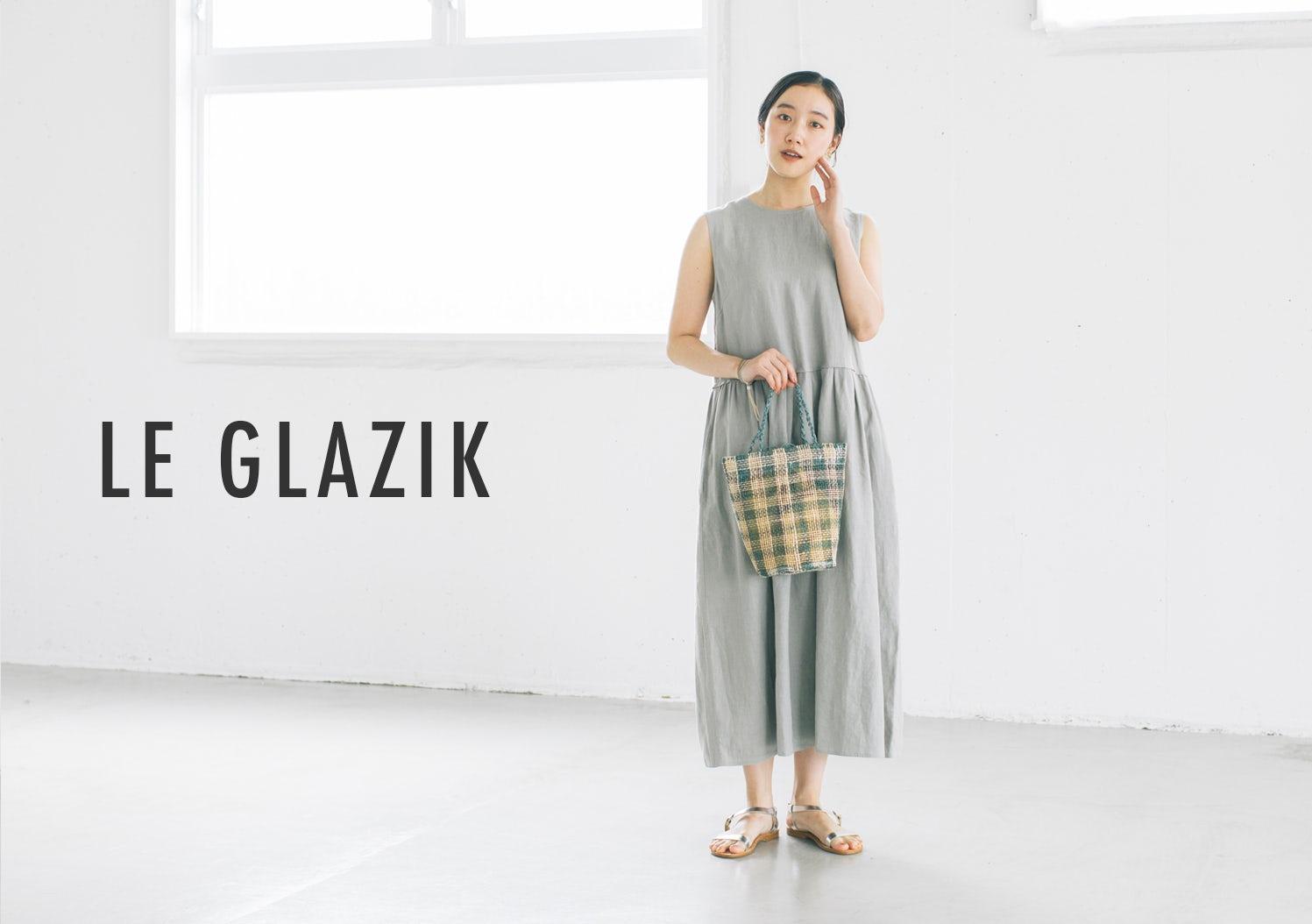 LE GLAZIK / ル グラジック / ノースリーブリネンワンピースの画像