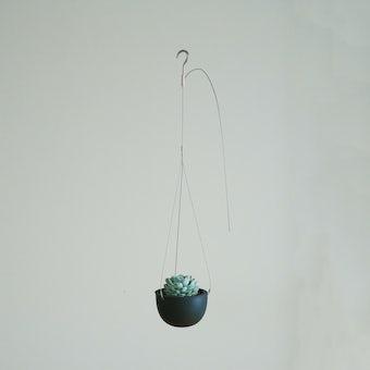 KINTO プラントポット / 植木鉢(4号鉢) / ブラックの商品写真