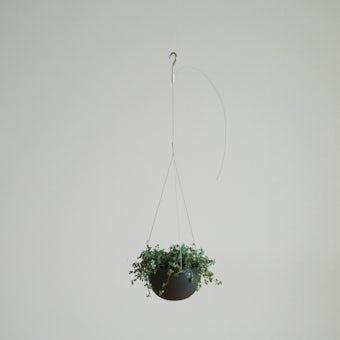 KINTO プラントポット / 植木鉢(5号鉢) / ブラックの商品写真