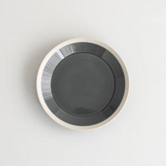 yumiko iihoshi porcelain × 木村硝子店 / dishes / プレート (径18cm) / フォググレーの商品写真