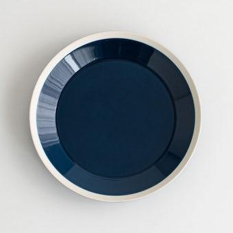 yumiko iihoshi porcelain × 木村硝子店 / dishes / プレート (径22cm) / インクブルーの商品写真