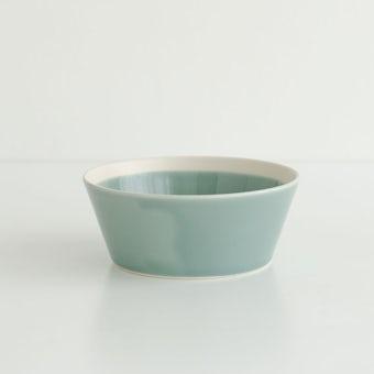 yumiko iihoshi porcelain × 木村硝子店 / dishes / ボウル (径12.5cm) / ピスタチオグリーンの商品写真