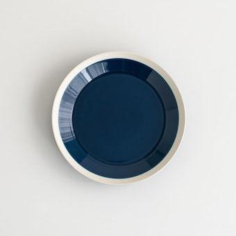 yumiko iihoshi porcelain × 木村硝子店 / dishes / プレート (径18cm) / インクブルーの商品写真