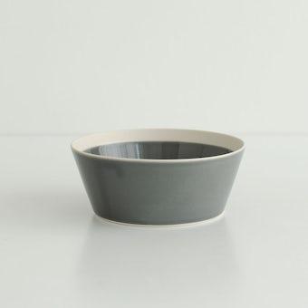 yumiko iihoshi porcelain × 木村硝子店 / dishes / ボウル(径12.5cm) / フォググレーの商品写真