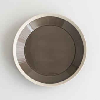 yumiko iihoshi porcelain × 木村硝子店 / dishes / プレート (径22cm) / ファーンブラウンの商品写真