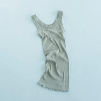 DRESS HERSELF / シルクリブインナーの商品写真