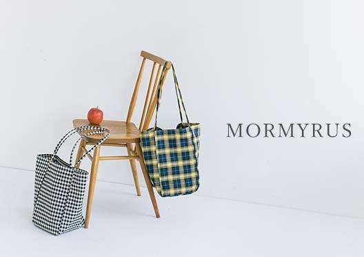 【当店別注】MORMYRUS / チェック柄トートバッグの画像
