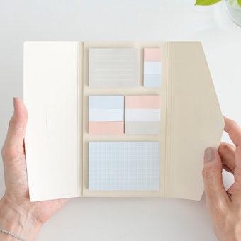「クラシ手帳」と一緒につかえる付箋セットの商品写真
