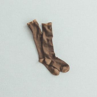 靴下 / ハイソックス / shower(チョコレート)の商品写真
