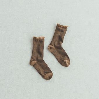 靴下 / shower(チョコレート)の商品写真