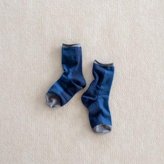 靴下 / tone(ネイビーブルー)の商品写真