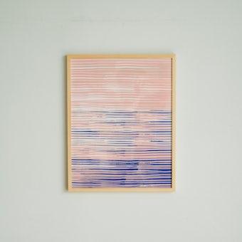 「暮らしに、ひとさじの非日常」ポスター・フレームセット / Horisontti / 吉澤葵の商品写真