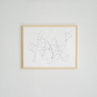 「暮らしに、ひとさじの非日常」ポスター・フレームセット / 果物 / 小澤真弓の商品写真