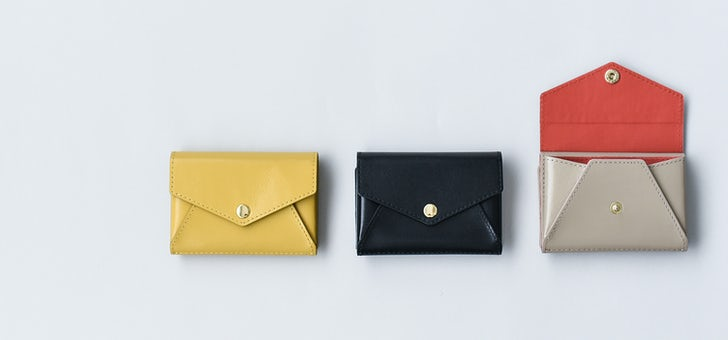 小さく見えて収納上手なミニ財布