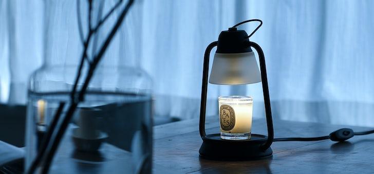火を使わずにアロマキャンドルを楽しむランプ