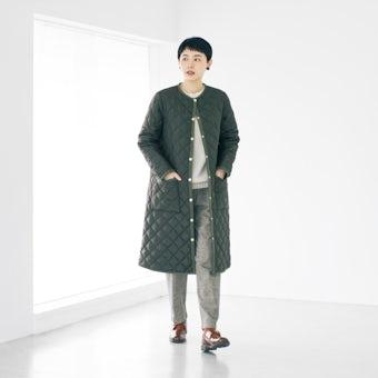 Traditional Weatherwear / キルティングコート(カーキ) / サイズ36の商品写真